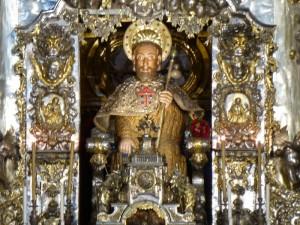 Imagen de Santiago el Mayor, patrón de Santiago de Compostela, Galicia y España, fiestas de Santiago de Compostela