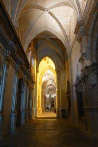 Estructura gótica de la Catedral de Cuenca