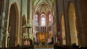Interior de la Catedral de Poznan