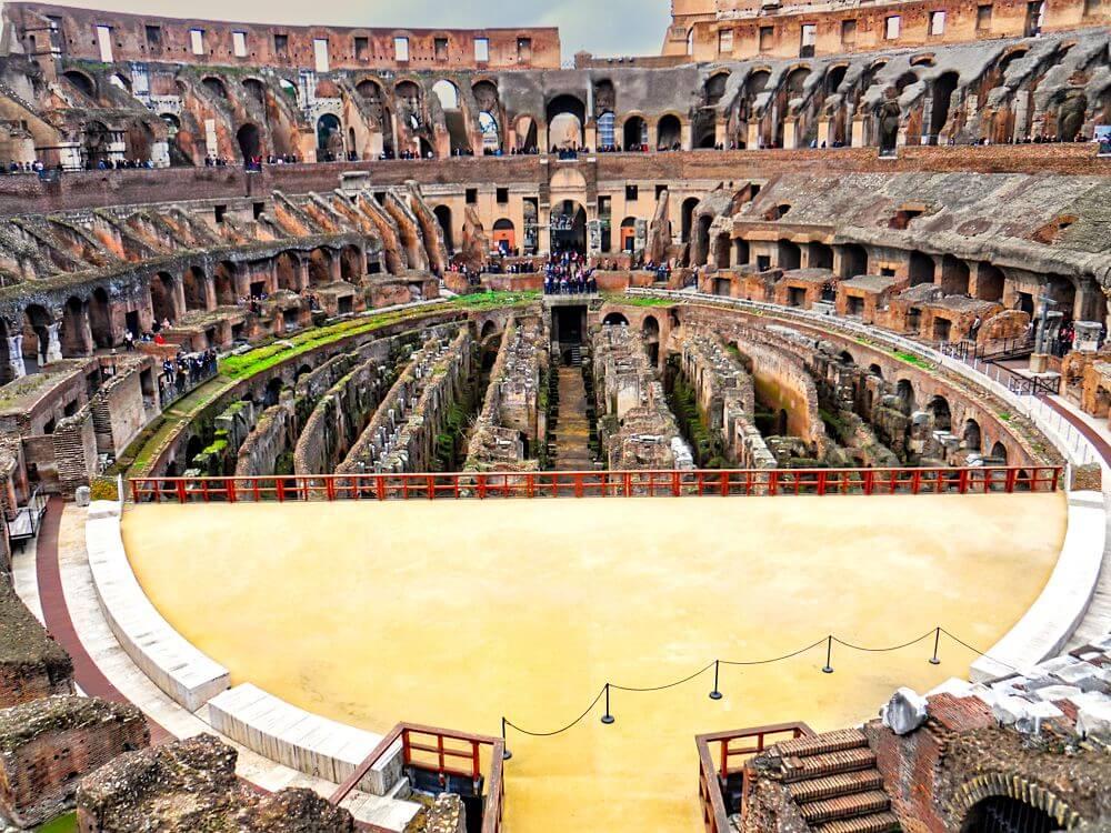 Coliseo Romano - historia, características, información, entradas