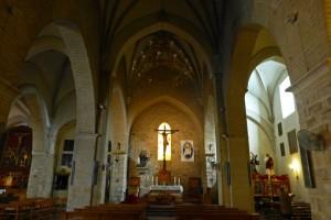 Interior de la Iglesia de la Magdalena en Jaén