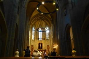 Interior de la Iglesia de San Nicolás , iglesias de Pamplona