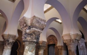 Interior de la Mezquita del Cristo de la Luz