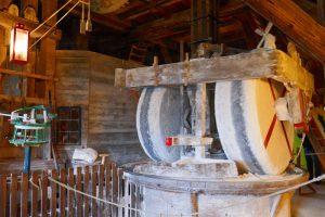 Interior de un molino de Zaanse Schans