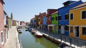 Casas de colores en Burano