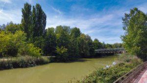 Parque Isla Dos Aguas, uno de los parques y jardines de Palencia