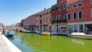 Canal de Murano, una de las islas más visitadas de la Laguna de Venecia