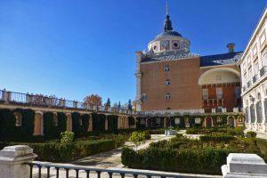 Jardín de las Estatuas o Jardín del Rey en el Palacio Real de Aranjuez