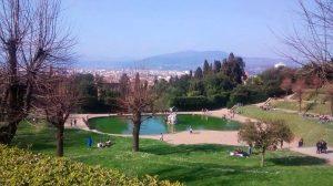 Jardines de Boboli, uno de los parques más bellos y concurridos de Florencia