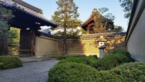 Jardines del templo Daitokuji en Kioto