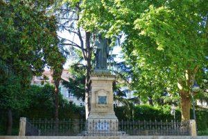 Jardines del Padre Feijóo, uno de los más pintorescos de Orense
