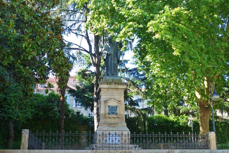 Plazas y jardines de Orense