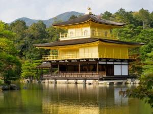 Kinkakuji o Pabellón Dorado de Kioto