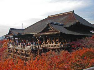 Edificio principal del templo Kiyomizudera