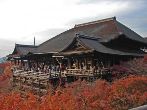 Templo Kiyomizu-dera, uno de los más visitados de Kioto