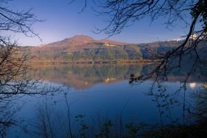 Lago Albano o Lago Castelgandolfo. Foto de sandrokan