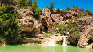 Lago Mayor, punto divisorio entre las Chorreras de Arriba y las de Abajo