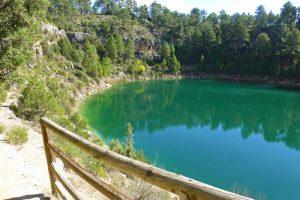 Mirador hacia la Laguna de la Cruz o de la Gitana