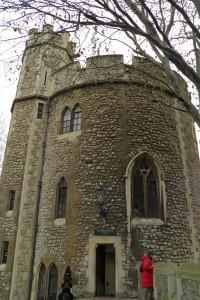 Lanthorn Tower en la Torre de Londres