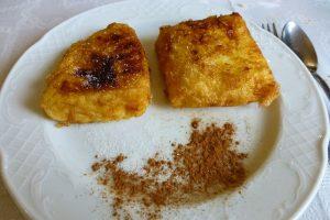 Leche frita, uno de los dulces tradicionales de Olite