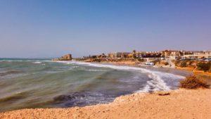 Litoral costero de Pilar de la Horadada