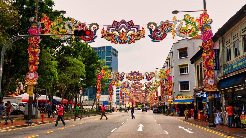 Little India, uno de los barrios tradicionales de Singapur