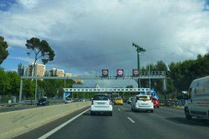 M-30, la vía de circunvalación más transitada de Madrid