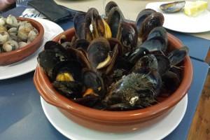 Los mariscos son uno de los platos más típicos de la gastronomía de La Coruña