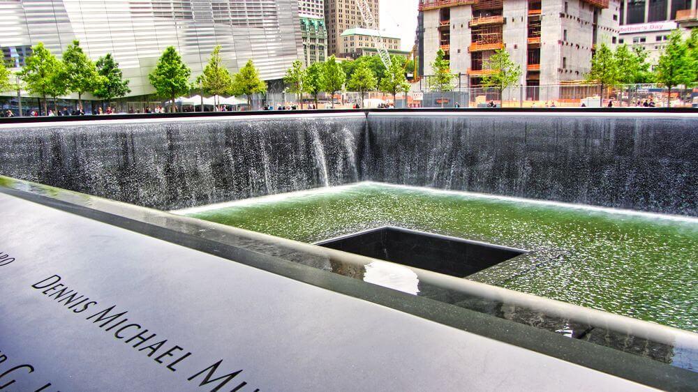 Piscinas del Memorial y Museo del 11S