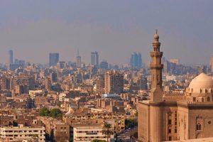 Vista panorámica de El Cairo
