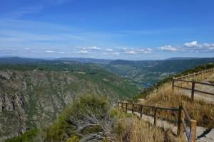 Mirador de los Balcones de Madrid en Parada de Sil, ruta de los miradores de la Ribeira Sacra
