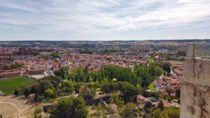 Vistas de Palencia en el corazón de la llanura de Tierra de Campos