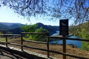 Mirador de La Malavuelta con vistas a la presa