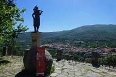 Mirador de la Serrana en Garganta la Olla