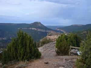 Mirador de Zaorejas, ofrece una de las mejores vistas del Parque Natural del Alto Tajo