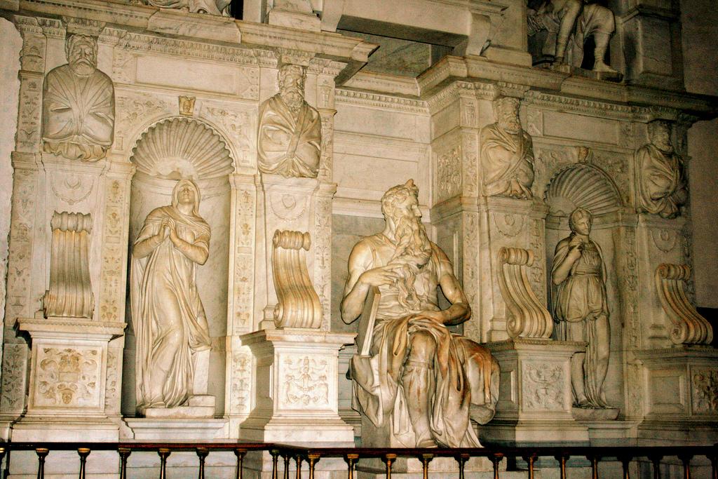 Basílica de San Pietro in Vincoli. Foto de Abir Anwar.