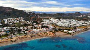 Mojácar Playa, con más de 17 kilómetros de costa