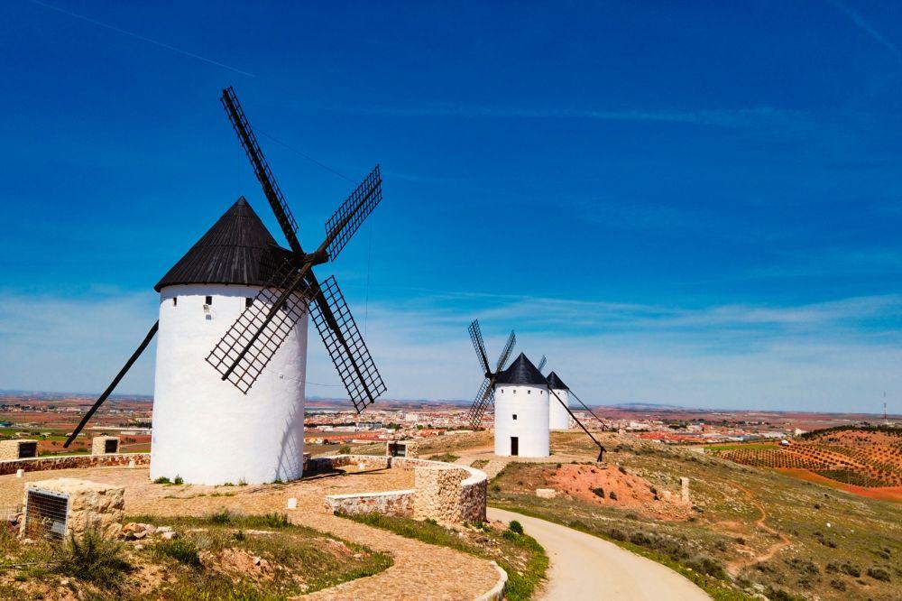Molinos de viento de Alcázar de San Juan, molinos de la mancha o molinos de don quijote