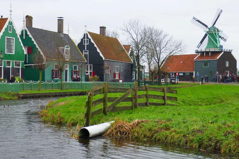 Zaanse Schanz, una de las excursiones imprescindibles desde Ámsterdam