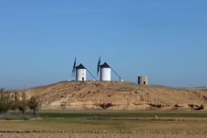 Molinos de viento de Tembleque, conocido como la Puerta de La Mancha