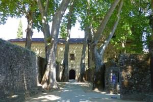 Entrada al Monasterio de Yuste