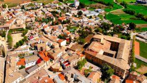 Imagen aérea del Monasterio de la Merced