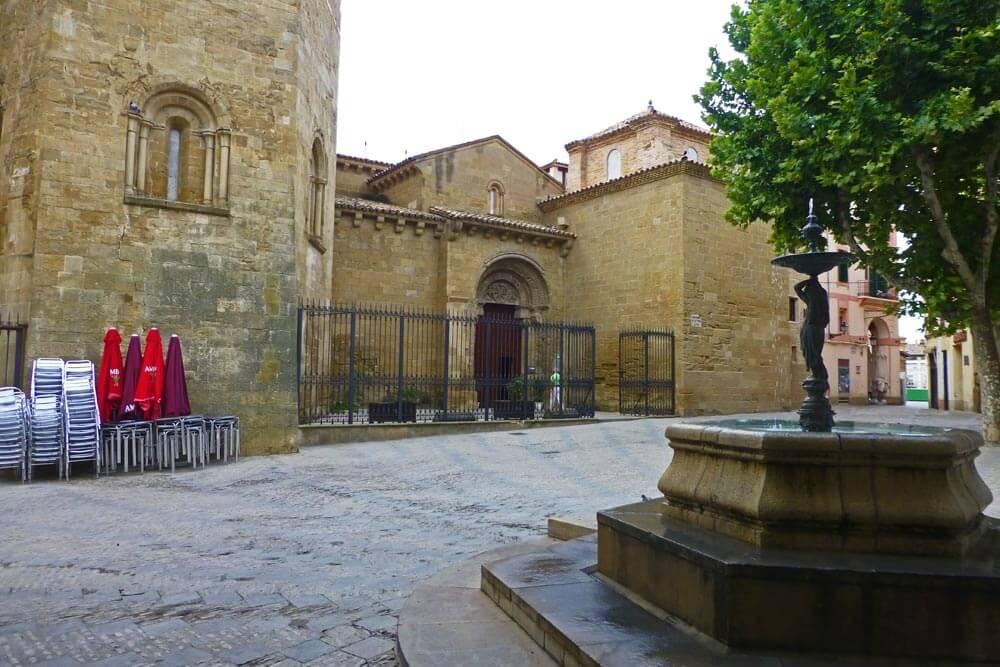 Monasterio de San Pedro el Viejo, uno de los principales edificios religiosos de Huesca