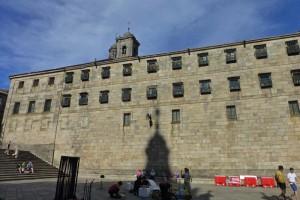 Monasterio de San Pelayo de Antealtares en la Plaza de la Quintana