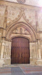 Portada del Monasterio de Santa Clara