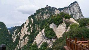 Monte Hua Shan, visita imprescindible desde Xian