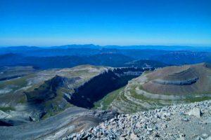 Valle de Ordesa a los pies del Monte Perdido, en el Pirineo Aragonés