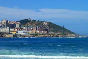 Monte de San Pedro, ofrece una de las mejores vistas panorámicas de La Coruña