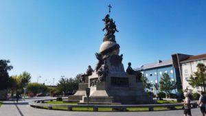 Monumento al Descubrimiento de América en la Plaza de Colón