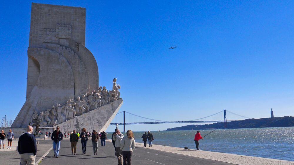 Monumento a los Descubrimientos en Belém